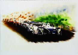 Porsche Legend Illustration D'après Aude B. - 24 Heures Du Mans - Le Mans