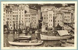Cartolina Pubblicitaria Camogli Michele Il Divo Del Pesce Vivo - Non Viaggiata - Genova (Genoa)