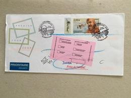 Bleriot Plage 2009 Premier Jour Poste Aérienne  Louis Bleriot Traversée De La Manche - Commemorative Postmarks