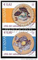 Vatican - 2005 - Europa CEPT - Gastronomy - Mint Stamp Set - Ungebraucht