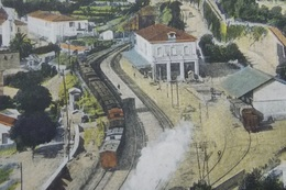 ITALY ITALIA Cartolina 1913 PORTO MAURIZIO Stazione - Veduto Da Via Genova  - Liguria - Autres Villes
