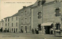 Frossay * Place De L'église * Les Hôtels * Boulangerie DENIAUD * Hôtel Du Commerce , Des Voyageurs - Frossay