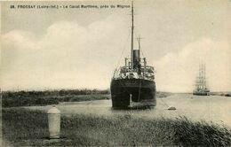 Frossay * Le Canal Maritime Près Du Migron * Bateau - Frossay