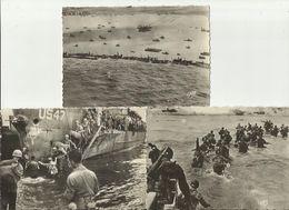 9348 - Lot De 3 Cartes Postales - Débarquement En Normandie - Guerra 1939-45