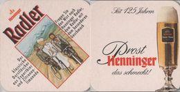 Bierdeckel Quadratisch - Henninger - Sotto-boccale