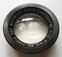 OPTIQUE - SOM BERTHIOT - PARIS - EURYGRAPHE - 1:12 - F = 610 Bté - Lenses