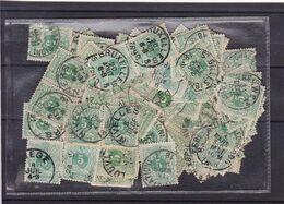 N° 45 :  Lot 100 Timbres Oblitérés - 1869-1888 Lying Lion