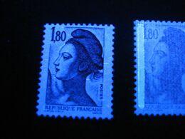Variété, 2120, 1,80Fr Rouge, Sans Phospho, Neuf - 1982-90 Liberté (Gandon)
