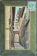ITALY ITALIA Cartolina 1911 PISTOIA Via Ripa Del Sale - Toscana - Pistoia