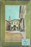 ITALY ITALIA Cartolina 1911 PISTOIA Piazza S. Leone - Toscana - Pistoia