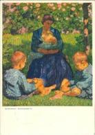 La Maternité ( Giovanni GIACOMETTI ) - Carte Pour L'aide Aux Mères - 1945 - Suisse