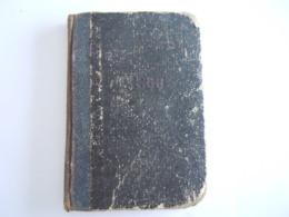 1866 Almanak Info Heiligen, Vorsten Europa Pausen, Volksvertegenwoordigers, Leopolds-orde, Provinciaal Bestuur Antwerpen - Books, Magazines, Comics