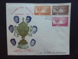 INDONESIA BADMINTON 1958 FDC - Indonésie
