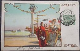 ITALY ITALIA Cartolina 1913 VENEZIA ANTIQUA - Veneto - Venezia (Venice)