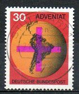 ALLEMAGNE. N°410 Oblitéré De 1967. Organisation Catholique Allemande Adveniat. - Christianity
