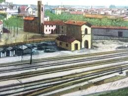 ITALY ITALIA Cartolina 1910 MONSELICE Stazione - Veneto - Italie