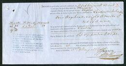 1878 Portugal Ship Document, Taylor Port Wine Oporto - London Via Southampton - Otros