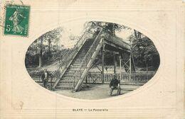 CPA 33 Gironde Blaye La Passerelle - Blaye