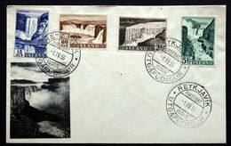 Iceland 1956   Minr.303. 305.307.310.   FDC    ( Lot 121 ) - FDC