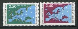 19211 FRANCE Service N°106/7**  Conseil De L'Europe   1990  TB - Neufs