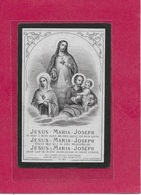 ZUSTER CAROLINA -PETRONELLA DE RIDDER-DUFFEL-1820-1884 - Images Religieuses