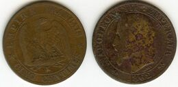 France 5 Centimes 1862 K GAD 155 KM 797.3 - France