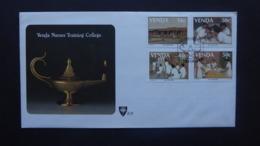 VENDA SG 175-78 NURSE'S TRAINING COLLEGE POSTMARK SHAYANDIMA 1988 - Francobolli