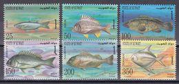 Kuwait 1997 - Mi.Nr. 1489 - 1494 - Postfrisch MNH - Tiere Animals Fische Fishes - Vissen