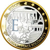France, Médaille, Géants Euro, Politics, Society, War, 2009, FDC, Copper Clad - Other