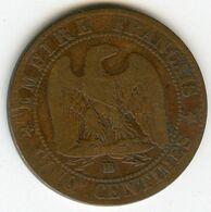 France 5 Centimes 1864 BB GAD 155 KM 797.2 - France