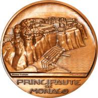 Monaco, Médaille, Principauté De Monaco, 1978, Turin, SPL, Bronze - Tokens & Medals