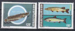 Benin 1989 - Mi.Nr. 485 - 486 - Postfrisch MNH - Tiere Animals Fische Fishes - Fische