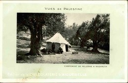 ISRAËL - Carte Postale - Nazareth - Un Campement De Pélerins - L 68014 - Israel