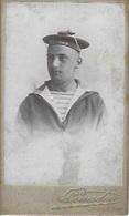 Militaria Marine De Guerre Photo Originale 6,5*10,5 Cm Phot. Couadou Toulon Marin Du Brennus - Alte (vor 1900)