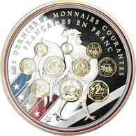 France, Médaille, 10 Ans D'adieu Au Franc, Les Dernieres Monnaies Courantes - Other