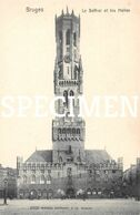 Le Beffroi Et Les Halles -  Bruges - Brugge - Brugge