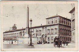 ROMA . PALAZZO DEL QUIRINALE . ANIMEE . Editeur SCROCCHI . MILANO - Roma