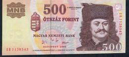 HONGRIE HUNGARY P188c  500 FORINT 2003    EB    UNC. - Hungary
