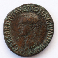 Roman Empire - Caligula- VESTA SC- XF! - As (#655) - 1. The Julio-Claudians (27 BC To 69 AD)
