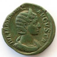 Roman Empire - Iulia Mamaea - FELICITAS AVG SC- XF! - Sesterz (#657) - 5. The Military Crisis (235 AD To 284 AD)