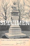 Le Monument H Pickery Au Rempart Du Béguinage -  Bruges - Brugge - Brugge
