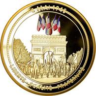 France, Médaille, 70ème Anniversaire Fin De La 2ème Guerre Mondiale - Other