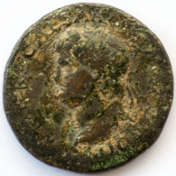 Roman Empire - Nero - ROMA - VF! - Sesterz (#652) - 1. The Julio-Claudians (27 BC To 69 AD)