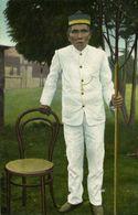 Indonesia, SUMATRA TOBA, Batak Chief Bim Radja (1910s) Postcard - Indonesia