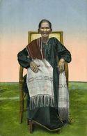 Indonesia, SUMATRA TOBA, Wife Of Batak Chief Bim Radja (1910s) Postcard - Indonesia