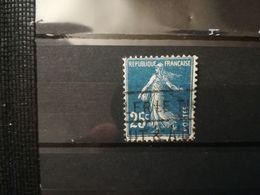 FRANCOBOLLI STAMPS FRANCIA FRANCE 1906 USED SERIE SEMINATRICE SEMEUSE ANNULLO OBLITERE' - 1906-38 Semeuse Camée