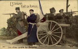 Militaria > Les Alliés Contre Les Barbares  / M 37 - Altri