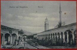 ALBANIA , KUJTIM NGA SHQYPENIA - TIRANA , K.u.K . ETTAPENPOSTAMT TIRANA 1917 - Albanie