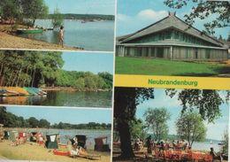 Neubrandenburg - U.a. Stadthalle Im Kulturpark - 1984 - Neubrandenburg