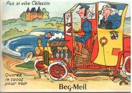 CARTE A SYSTEME   BEG MEIL   TOF TOF - Beg Meil